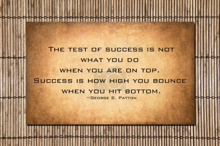 George S. Patton quote about success