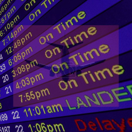 Airliner Arrival Times