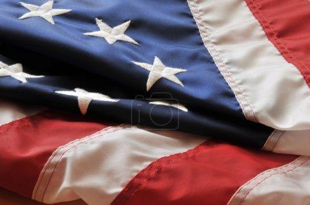 Photo pour Symbole national de l'Amérique, drapeau américain - image libre de droit