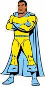 Black Classic Superhero