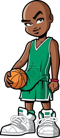black african american basketball