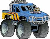Illustration of a Monster Truck