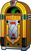 Vintage Antique Jukebox