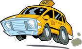 Speeding New York City Taxi