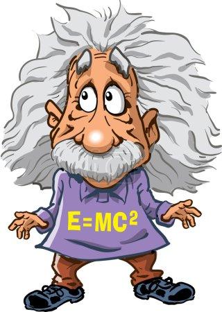 Иллюстрация Альберт Эйнштейн