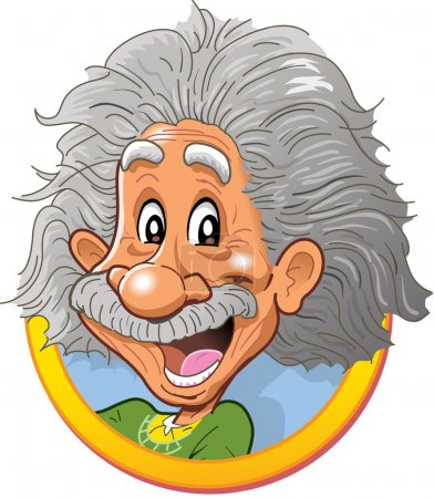 Albert Einstein Head