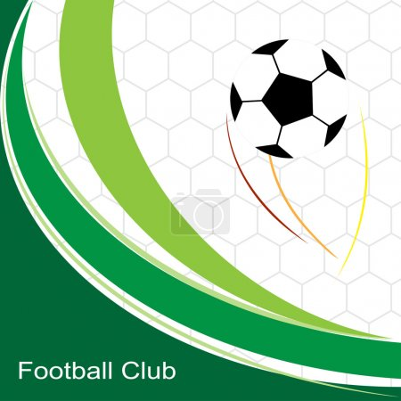 Abstract soccer football . background with soccer football desig