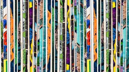 Comic Books Background