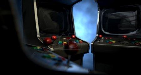 Arcade Machine Group Huddle