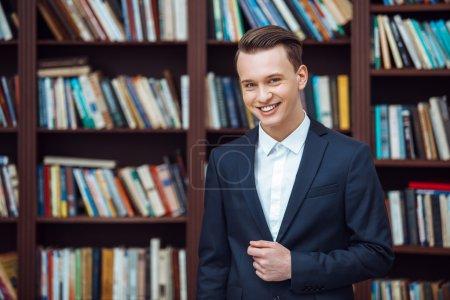Photo of young stylish man