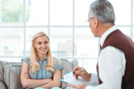 Concept for consultation with psychologist