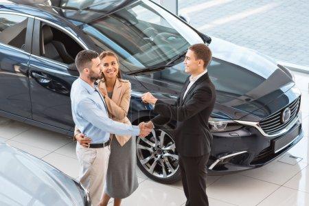 Creative concept for car rental