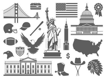 Traditional symbols of the USA