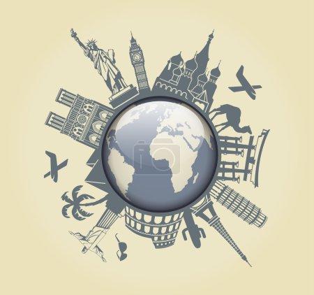 Symbol of travel