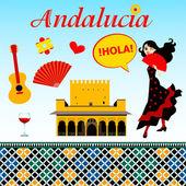 Spanish Andalucia set