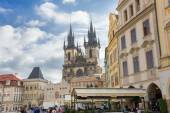 People in old town hall - Prague - Czech Republic