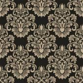 Bezešvé damaškové květinové tapety pro design