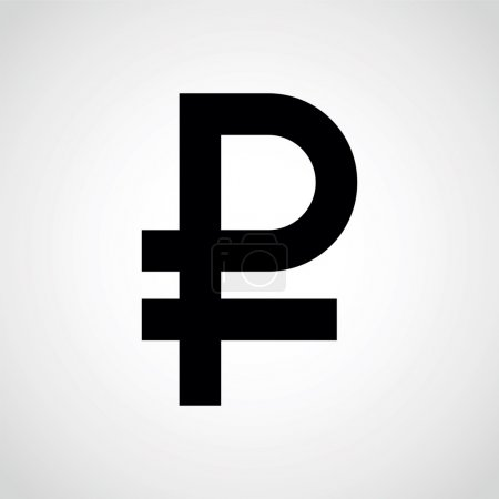 symbol ruble.