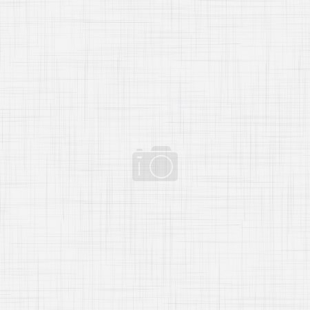 Illustration for White linen seamless texture. EPS10 vector illustration - Royalty Free Image