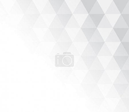 Illustration for Abstract grey and white pattern for background texture. Vector illustration - Royalty Free Image