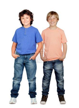 Two little boys