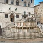 Fontana Maggiore on Piazza IV Novembre in Perugia,...