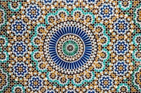 Moroccan vintage background