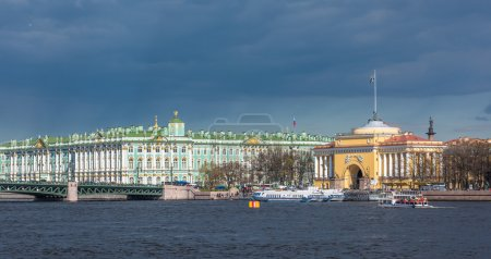 Hermitage and Admiralty buildings