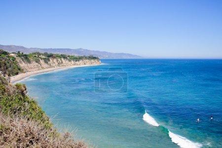 View from Duma Point, Malibu California, USA...