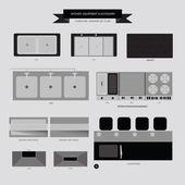 Kitchen Equipment and Accessory Furniture Icon
