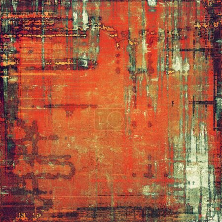 Photo for Grunge old texture as abstract background. With different color patterns - Royalty Free Image