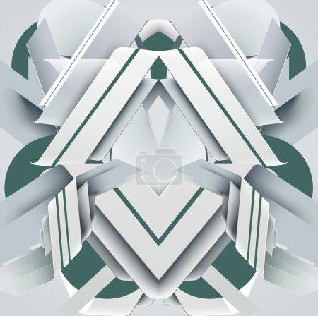 Geometric textured background