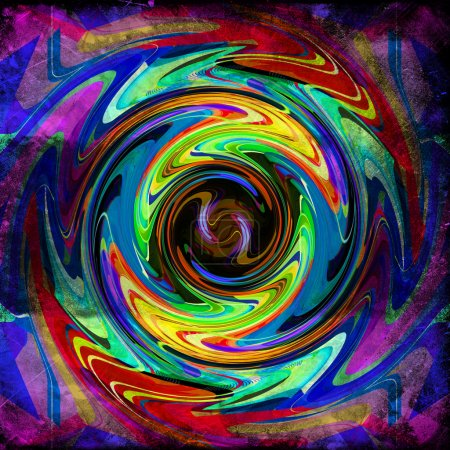 Photo for Bright abstract background - Royalty Free Image