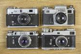 Staré fotoaparáty na film