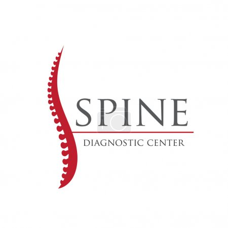 Spine diagnostic center logo