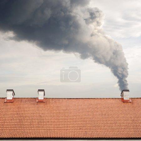 Smoking himney