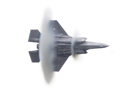 LEEUWARDEN, THE NETHERLANDS - JUN 11, 2016: Dutch F-35 Lightning