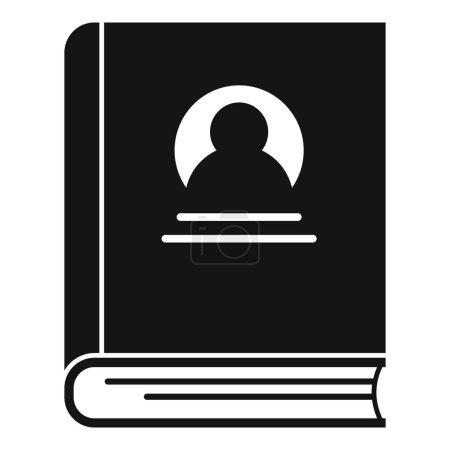 Photo pour Sociologie vieille icône du livre. Illustration simple de la sociologie vieux livre vecteur icône pour web design isolé sur fond blanc - image libre de droit