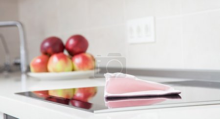 Fragment of a clean kitchen