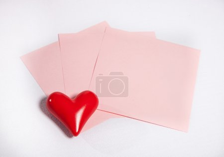 Photo for Write love letter in Valentine's day! - Royalty Free Image