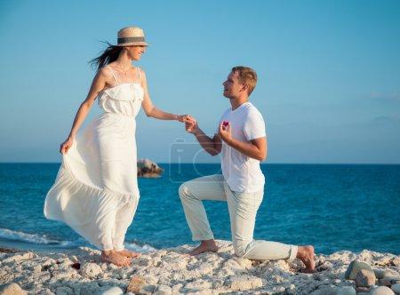 Proposer le mariage à la femme l'homme