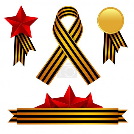 Vector set of Victory Day...