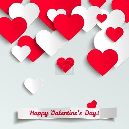 carte de jour de Valentine