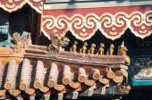 Tető figurák, a láma templom, Beijing