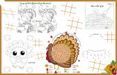 14 games to play for the young and young at heart   Keep everyone entertained at the holiday table with find the differences pie maze color me find the words connect the dots and tic tac toe Answers to the puzzles are in the VECTOR file