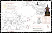 Placemat Halloween Printable Activity Sheet 12