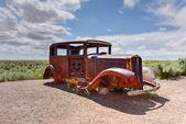 Route 66 Vintage Car