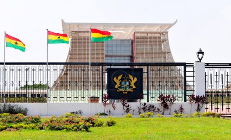 The Flagstaff House - Presidential Palace of Ghana
