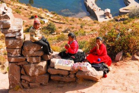 Paysages autour du lac Titicaca, Pérou