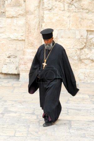 Orthodox Priest, Holy Sepulchre Church, Jerusalem